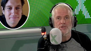 Chris Moyles tells Vernon Kay why he wouldn't be good in I'm A Celeb