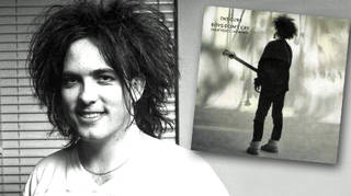 Robert Smith in 1985 and the reissue of Boys Don't Cry