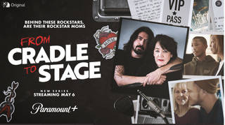 Dave Grohl and his mother Virginia in From Cradle To Stage documentary series