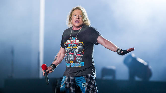 Axl Rose  performs at the Guns 'N' Roses 'Not In This Lifetime' Tour  in Brisbane, 2017. He has a zoo!