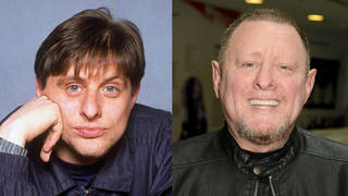Shaun Ryder then... and now.