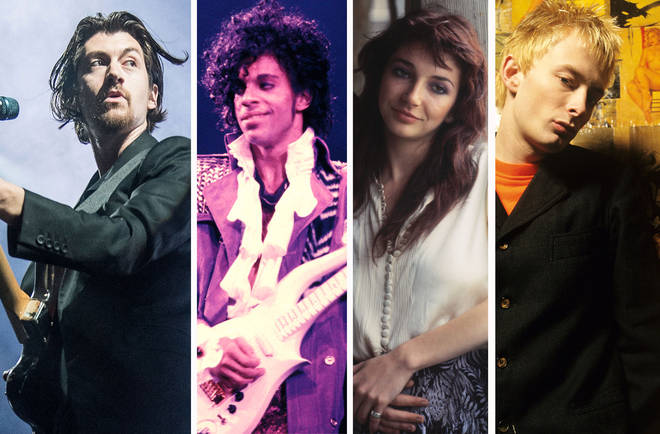Arctic Monkeys' Alex Turner. Prince, Kate Bush and Radiohead's Thom Yorke