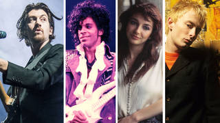 Arctic Monkeys' Alex Turner. Prince, Kate Bush and Radiohead's Thom Yorke