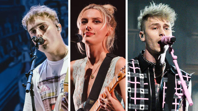 Sam Fender, Wolf Alice's Ellie Rowsell and Machine Gun Kelly