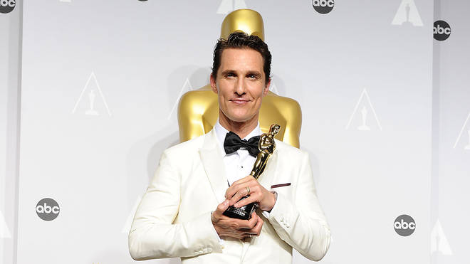 Matthew McConaughey at the 86th Annual Academy Awards