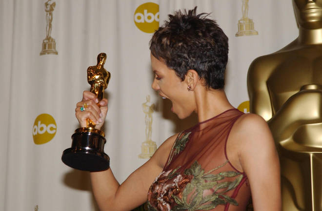 Halle Berry was the first black woman to win the Best Actress Academy Award.