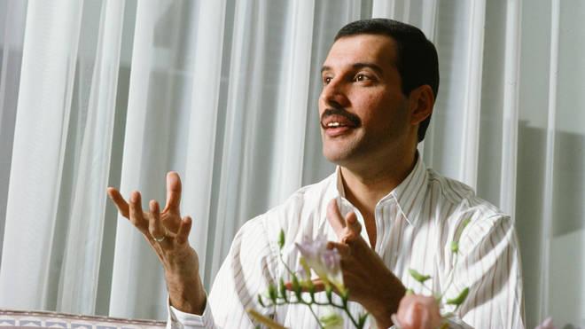 Freddie Mercury, during his final trip to Japan, in 1986