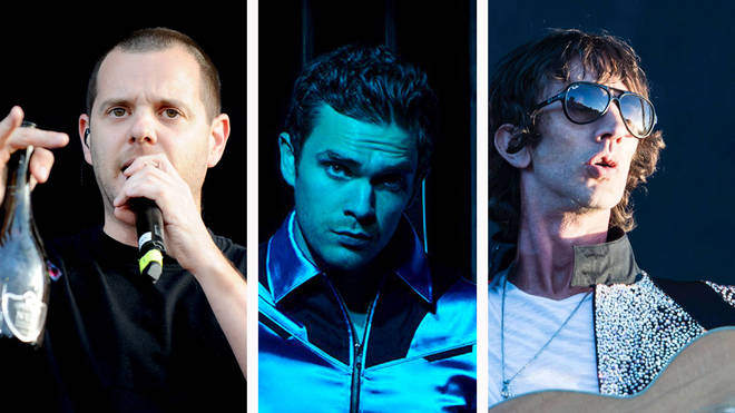 The Streets' Mike Skinner, Royal Blood's Mike Kerr and Richard Ashcroft