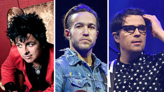 Green Day's Billie Joe Armstrong, Fall Out Boy's Pete Wentz and Weezer's Rivers Cuomo