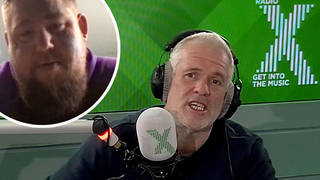 Rag'n'Bone Man tells Chris Moyles about the police being called to his house