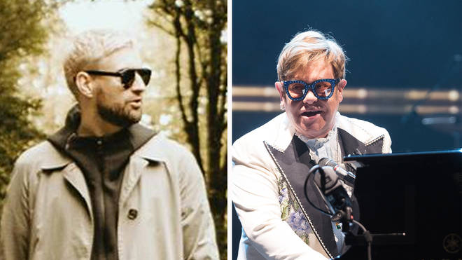 Courteeners frontman Liam Fray and Elton John