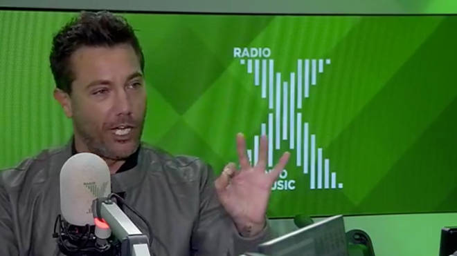 Gino D'Acampo on The Chris Moyles Show