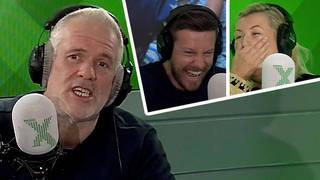 Chris Moyles plays Rosie Ramsey's radio demo