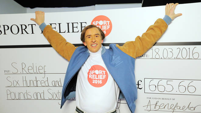 Alan raises money for Sports Relief in 2016