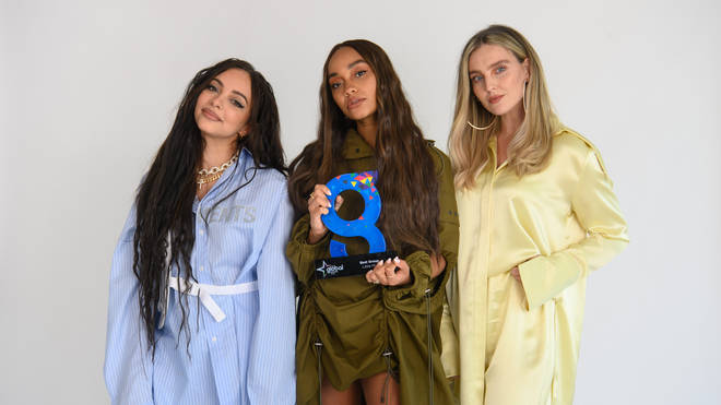 Little Mix were honoured with the Best Group prize