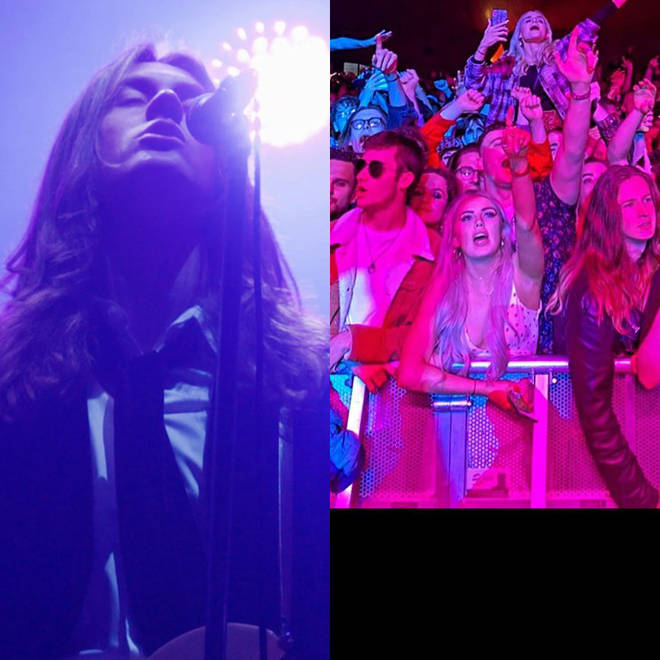Blossoms played the UK's first unrestricted gig on 2 May