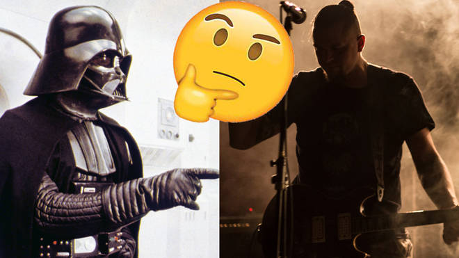 A famous Star Wars character and an indie musician. Can you tell the difference?