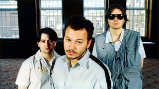 Manic Street Preaches in 1998:  Sean Moore, James Dean Bradfield, Nicky Wire