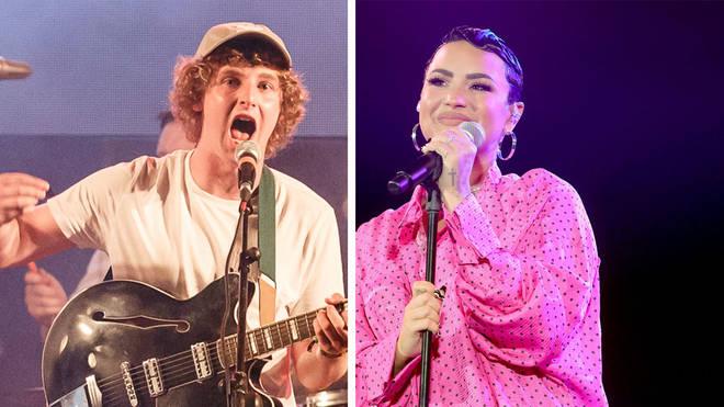 The Snuts frontman Jack Cochrane and Demi Lovato