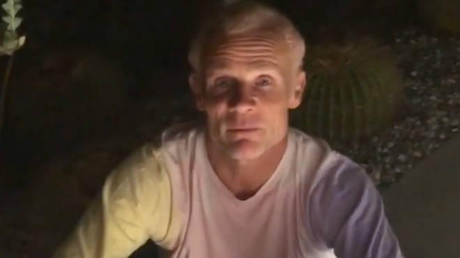 Red Hot Chili Peppers Flea urges fans to vote