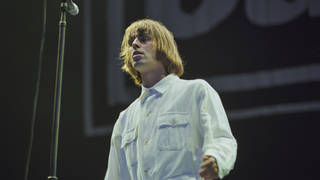 Liam Gallagher from Oasis At Knebworth