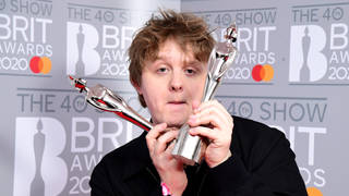 Lewis Capaldi - a genuine BRIT Award winner!