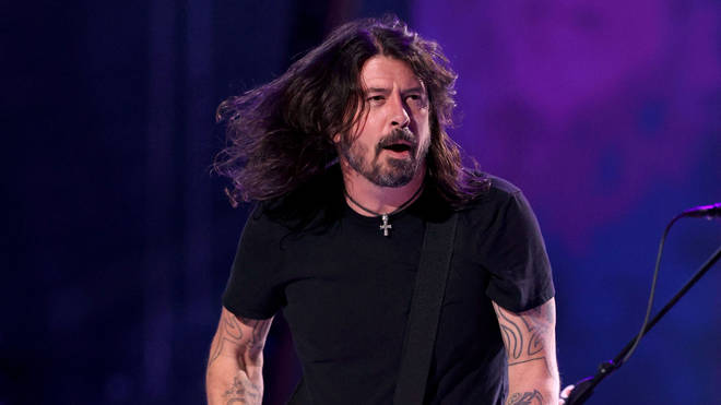 Foo Fighters' Dave Grohl in 2021