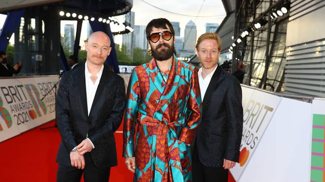 Biffy Clyro at The BRIT Awards 2021