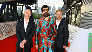 Biffy Clyro at The BRIT Awards 2021