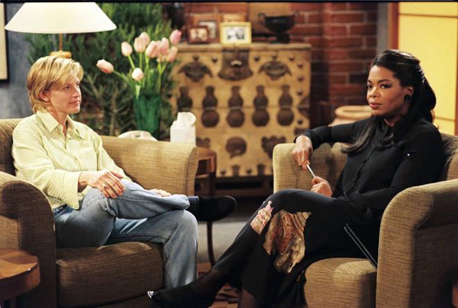 Oprah played Ellen DeGeneres' therapist in Ellen sitcom's The Puppy Episode