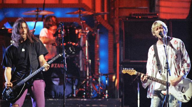Nirvana at the MTV Awards 1992