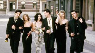 The Friends cast