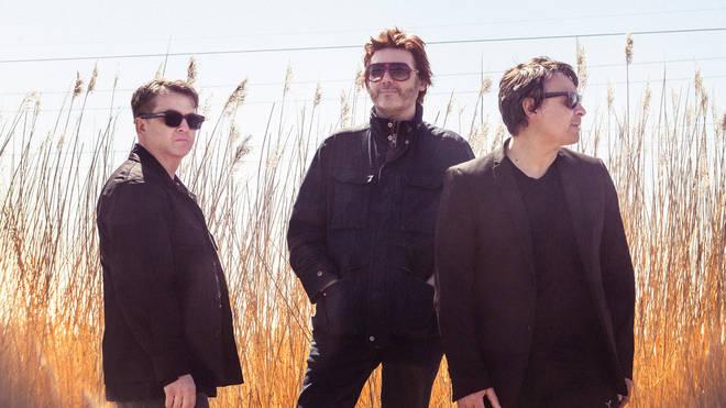 Manic Street Preachers 2021: Sean Moore, Nicky Wire and James Dean Bradfield