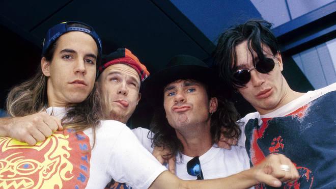 Red Hot Chili Peppers: Anthony Kiedis, Flea, Chad Smith, John Frusciante