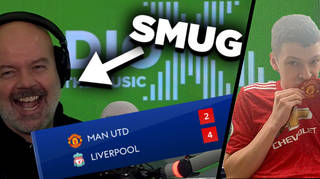Dom gets his revenge on Sam after Man United defeat