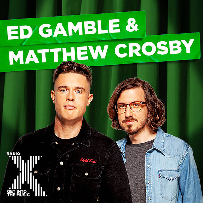 Ed Gamble & Matthew Crosby on Radio X podcast