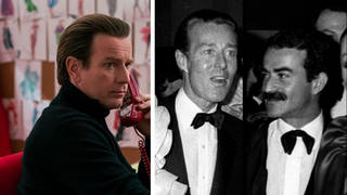 Ewan McGregor in Netflix's Halston, American Fashion designer Halston and his lover Victor Hugo
