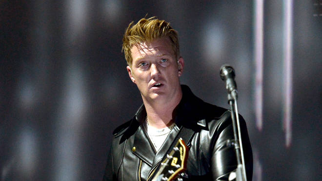 Josh Homme at the 56th GRAMMY Awards - Show