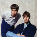Noel and Liam Gallagher in Japan in 1994