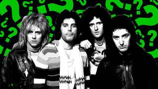 The legendary Queen in 1978: Roger Taylor, Freddie Mercury, Brian May, John Deacon