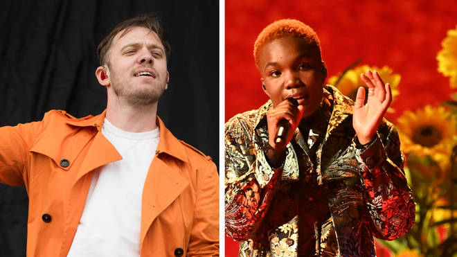 Everything Everything frontman Jonathan Higgs and Arlo Parks
