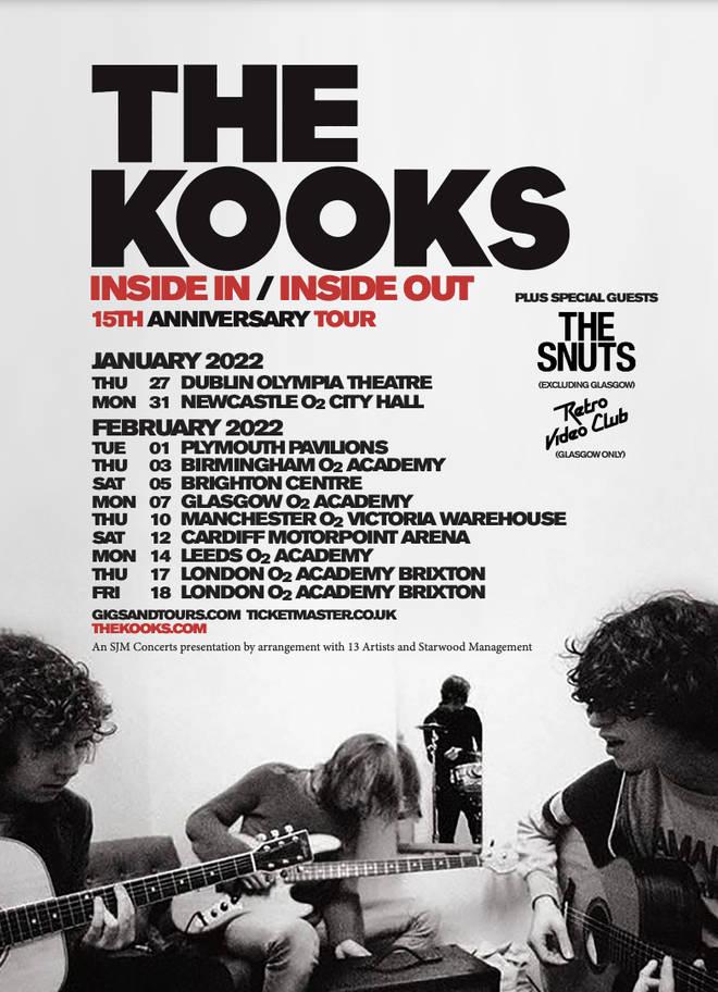 The Kooks 2022 tour
