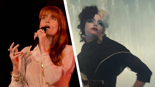 Florence Welch and Emma Stone as Cruella