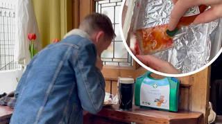 James gets pranked with sabotaged jam sandwiches