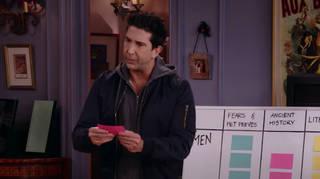 David Schwimmer in the Friends reunion trailer