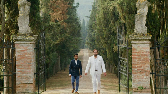 Dev and Arnold attend a wedding in Italy