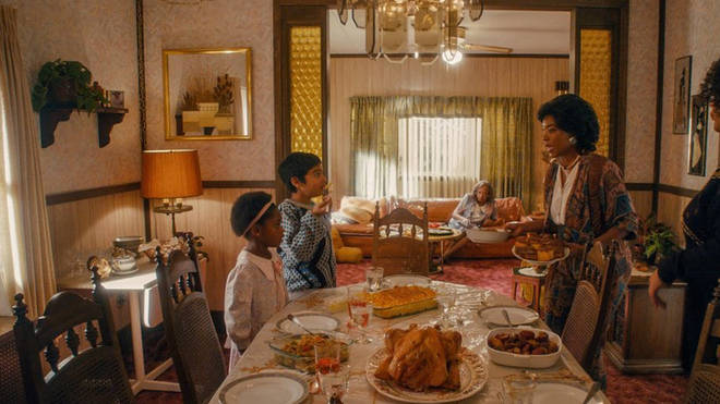 Denise comes out to her family during Thanksgiving dinner