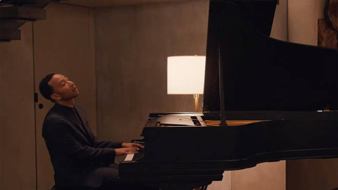 John Legend performs a song on Master of None