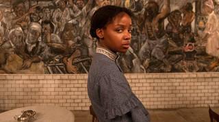 Thuso Mbedu plays Cora in Amazon's The Underground Railroad