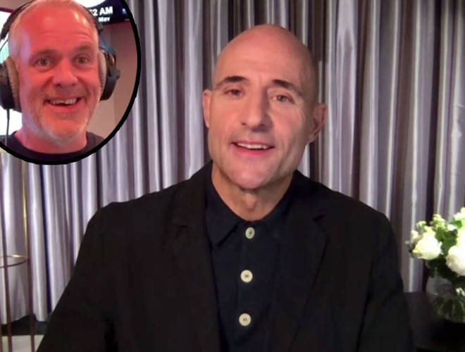 Mark Strong talks to The Chris Moyles Show
